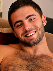 Hairy stud Josh Long