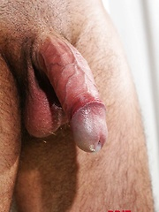 Darren Daley strokes his uncut dick